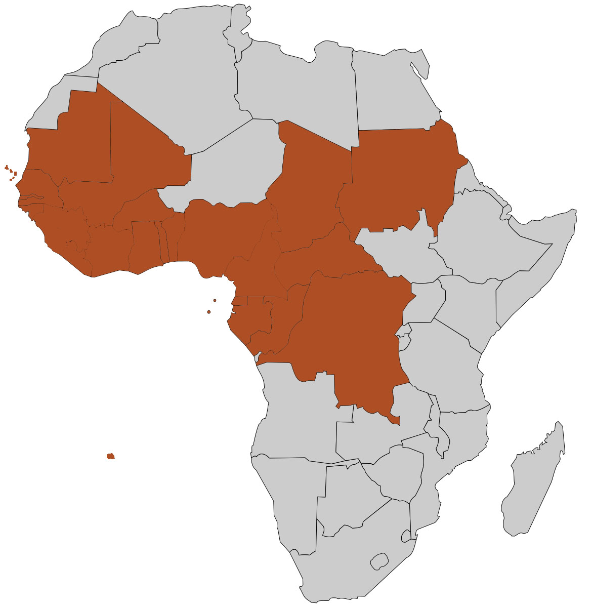 map of west africa pdf