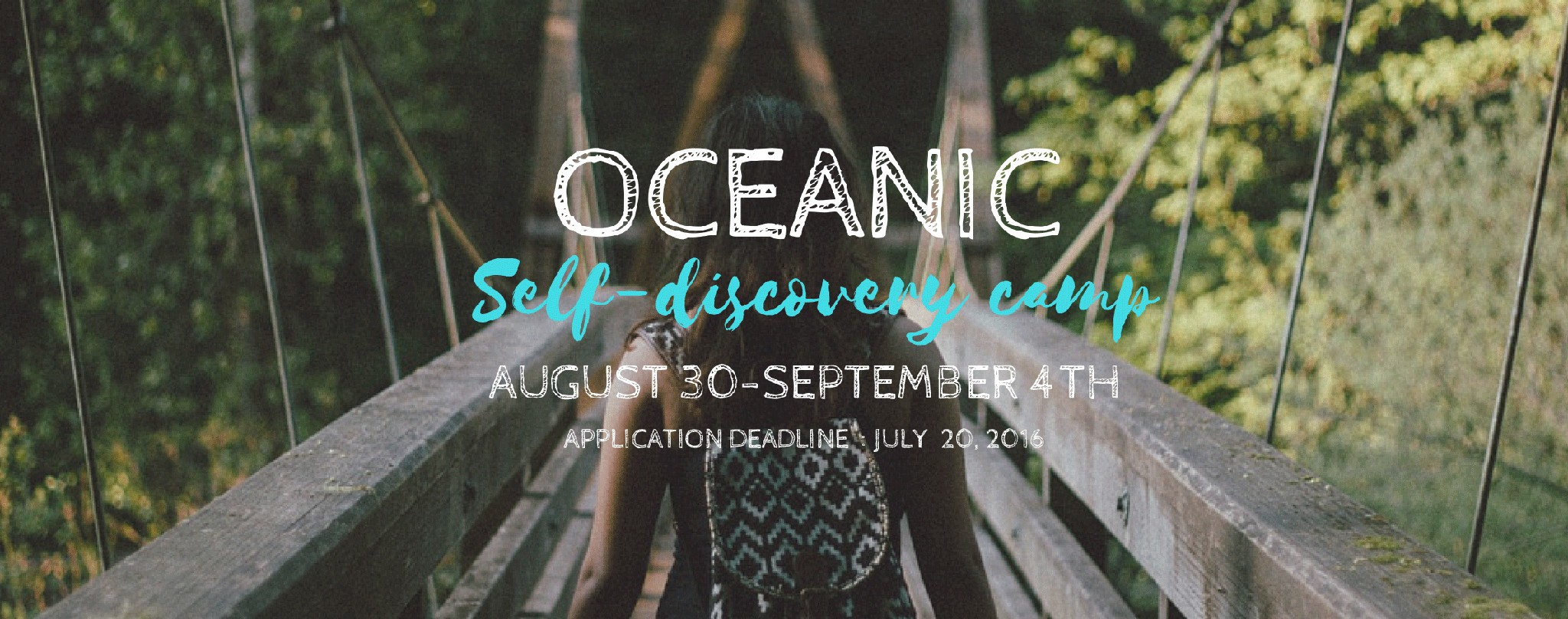 Oceanic Self-Discovery Camp | Peace Revolution
